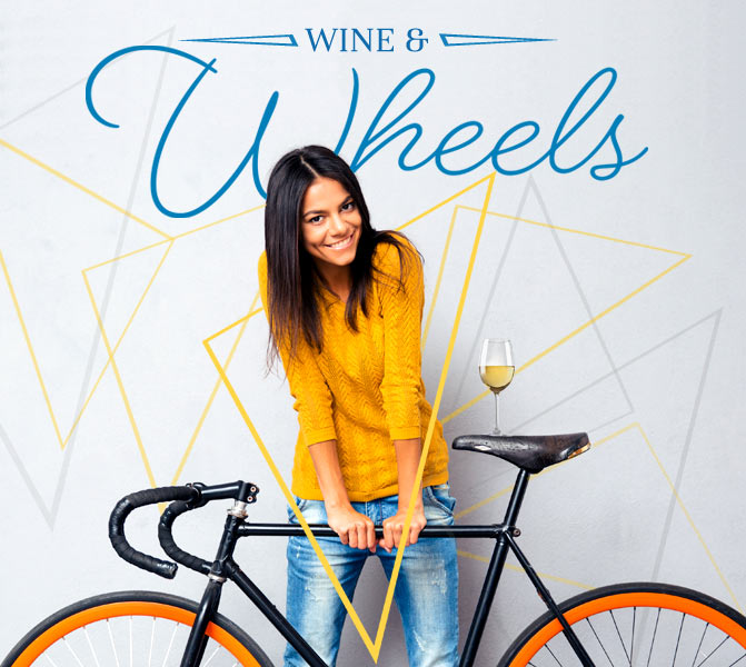 Wine And Wheels - March 31 at 6 PM