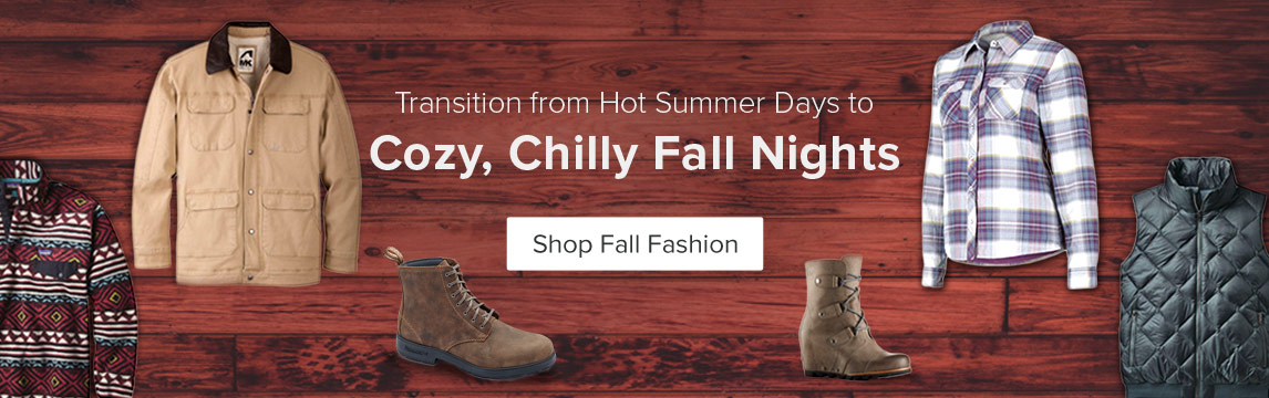 Fall Fashion - Layer Up - Shop Now