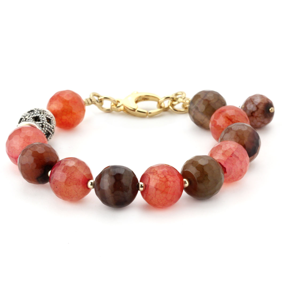Lollies Red Agate Bracelet 344488