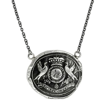 605-01282-While I Breathe I Hope Talisman Necklace