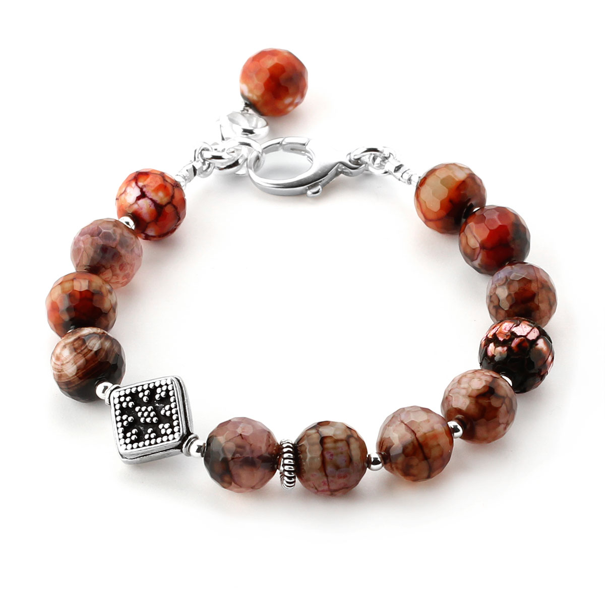 348692-Lollies Red Agate Bracelet