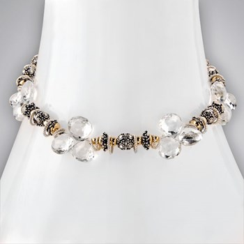White Topaz Necklace-334298