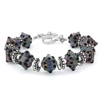 240-3254-Fancy Glass Bracelet