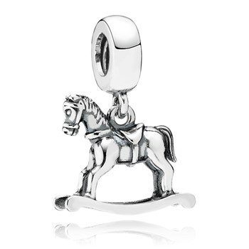 348027-PANDORA Rocking Horse Dangle