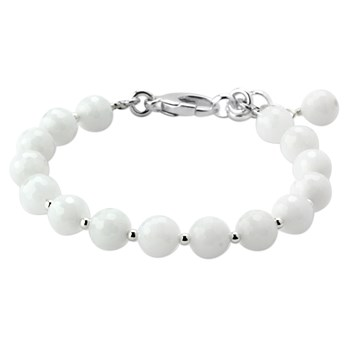 345020-Lollies White Quartzite Bracelet