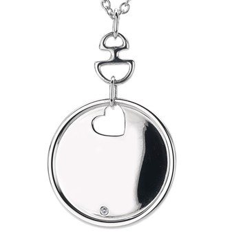 Hot Diamonds Love Letters Disc Pendant-334118