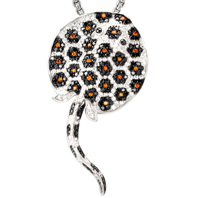 337860-Stingray Bling Pendant ONLY 1 AVAILABLE