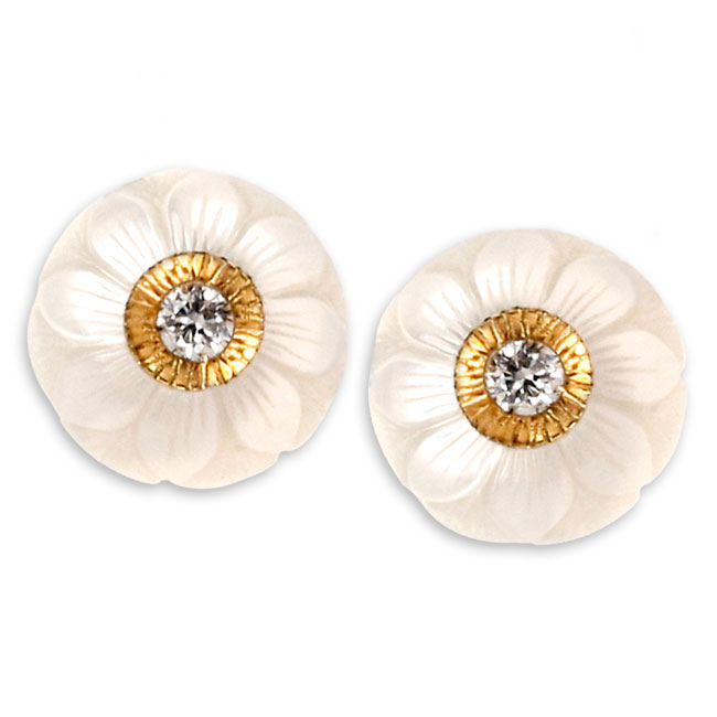 334071-Galatea Diamond & Pearl Earring