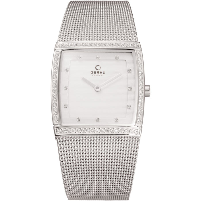 500-36-Obaku Women's Silver Mesh Watch