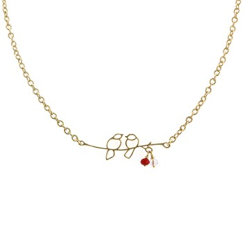 Lovebirds Necklace 235-526