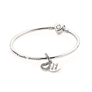PANDORA A Mother's Love Bangle Gift Set RETIRED