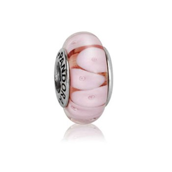 PANDORA Pink Looking Glass Murano-340162