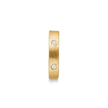 STORY by Kranz & Ziegler Gold-Plated Starry Ring Spacer
