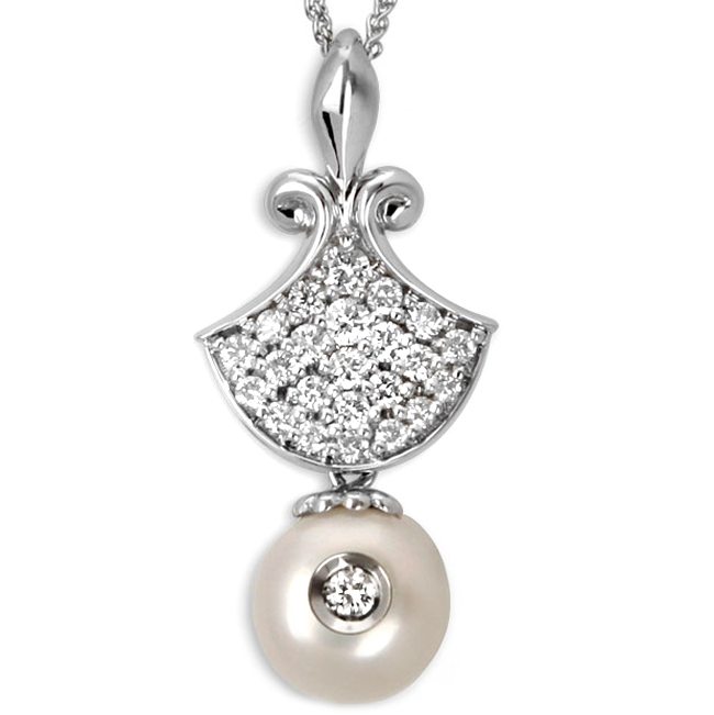 337350-Galatea White Freshwater Pearl Necklace