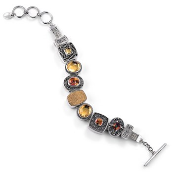 336472-Lori Bonn Trophy Wife Charm Bracelet ONLY 1 LEFT!