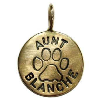 ns057-Heather Moore Jewelry Dog Paw Charm