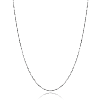 PANDORA Oxidized Sterling Silver Chain with clasp-342941