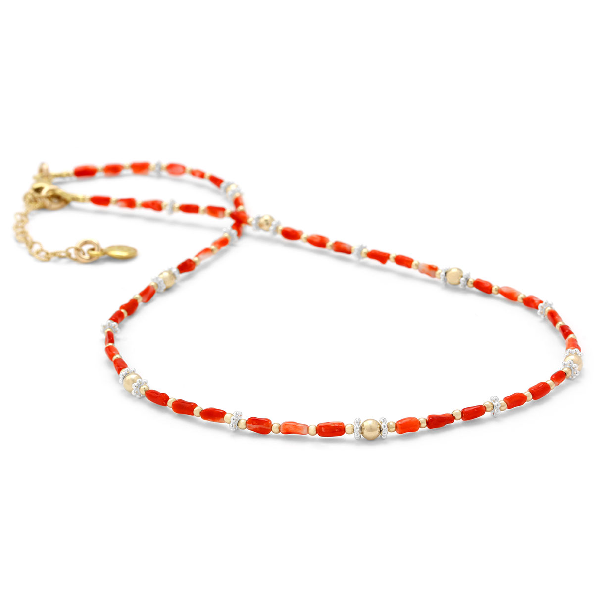 Coral Necklace-235-588