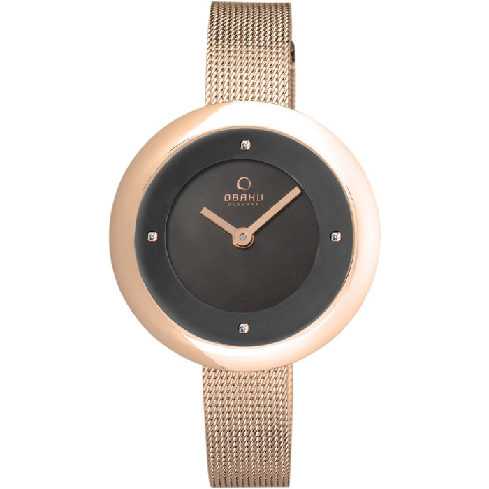 500-29-Obaku Women's Rose Gold Watch