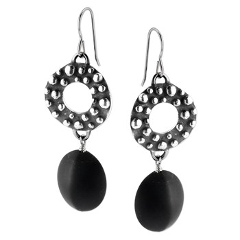 257329-Onyx Earrings