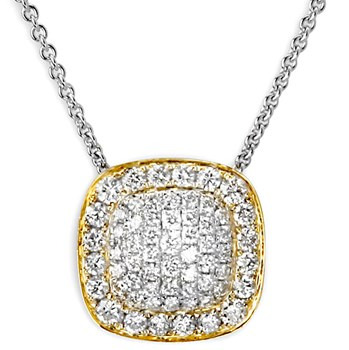 Pavé Diamond Necklace-336531