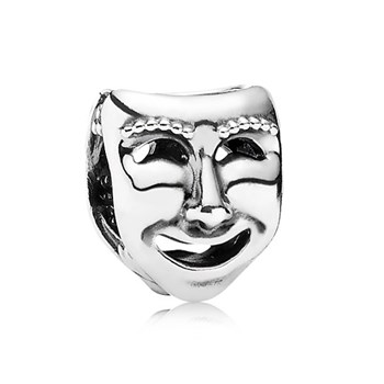 344219-PANDORA The World's A Stage Theater Mask Charm