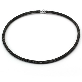340132-Black Necklace ONLY 4 LEFT!