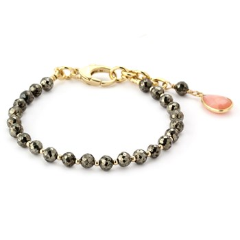 344882-Lollies Pyrite Bracelet