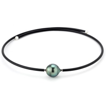 343367-Tahitian Pearl Wrap Necklace