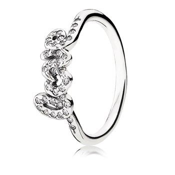 PANDORA Signature of Love Ring RETIRED LIMITED QUANTITIES!