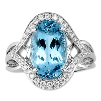 Aquamarine Ring-343983