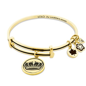 Lauren G Adams LOLO Crown Bangle ONLY 1 LEFT!