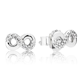 PANDORA Infinity Love Earrings