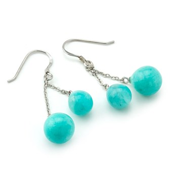 Double Amazonite Earrings-645-747