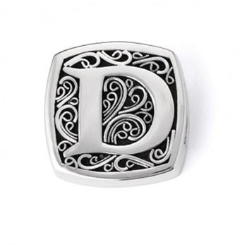 D is for Daring Slide Charm-336399