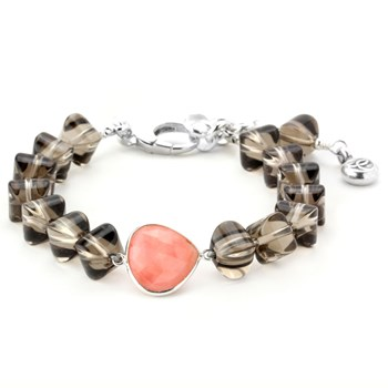 Lollies Smokey Quartz Bracelet 344636