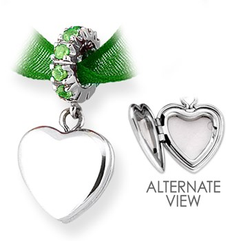 Storywheels Peridot Sterling Silver Locket RETIRED ONLY 1 LEFT!-335625