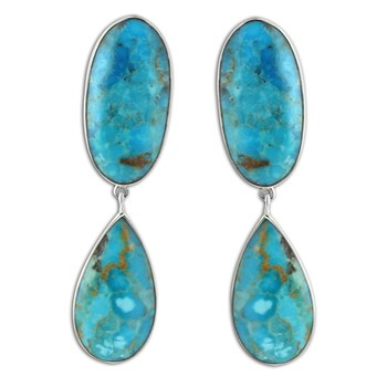 347405-Turquoise Earrings