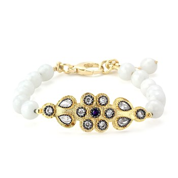 344660-Lollies White Quartzite Bracelet