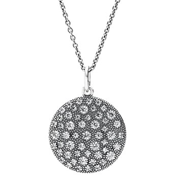 PANDORA Cosmic Stars with Clear CZ Necklace RETIRED ONLY 5 LEFT! 348212