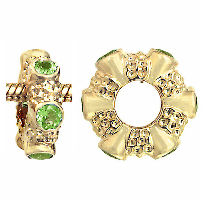 275033-Storywheels Peridot 14K Gold Wheel