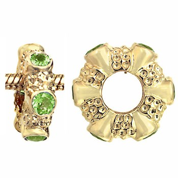 Storywheels Peridot 14K Gold Wheel-275033