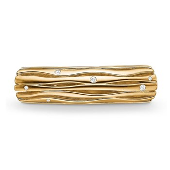 STORY by Kranz & Ziegler Gold-Plated Starry Tube