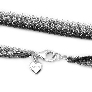 28'' 5 Strand Tinsel Rope Necklace-342047