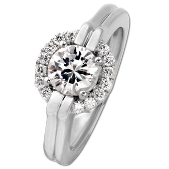 Frederic Sage Bridal Ring-334697