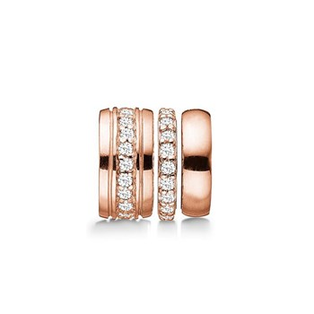 STORY by Kranz & Ziegler Rose-Plated 3-in-1 Sparkle Spacer