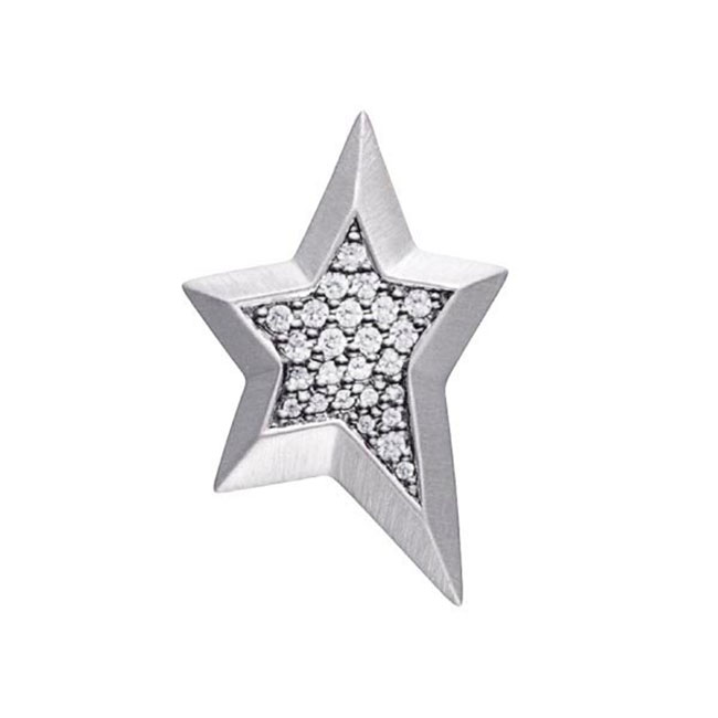 STORY by Kranz & Ziegler Sterling Silver Star Gem Button PRE-ORDER