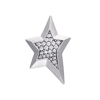 STORY by Kranz & Ziegler Sterling Silver Star Gem Button