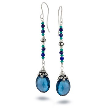 London Blue Topaz Lapis & Turquoise-210-850