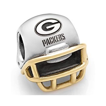 346584-PANDORA Green Bay Packers NFL Helmet Charm